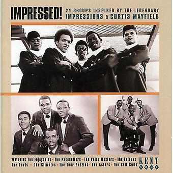 A impressionné - impressionné-24 groupes inspirés par l'importation USA Impressions [CD]