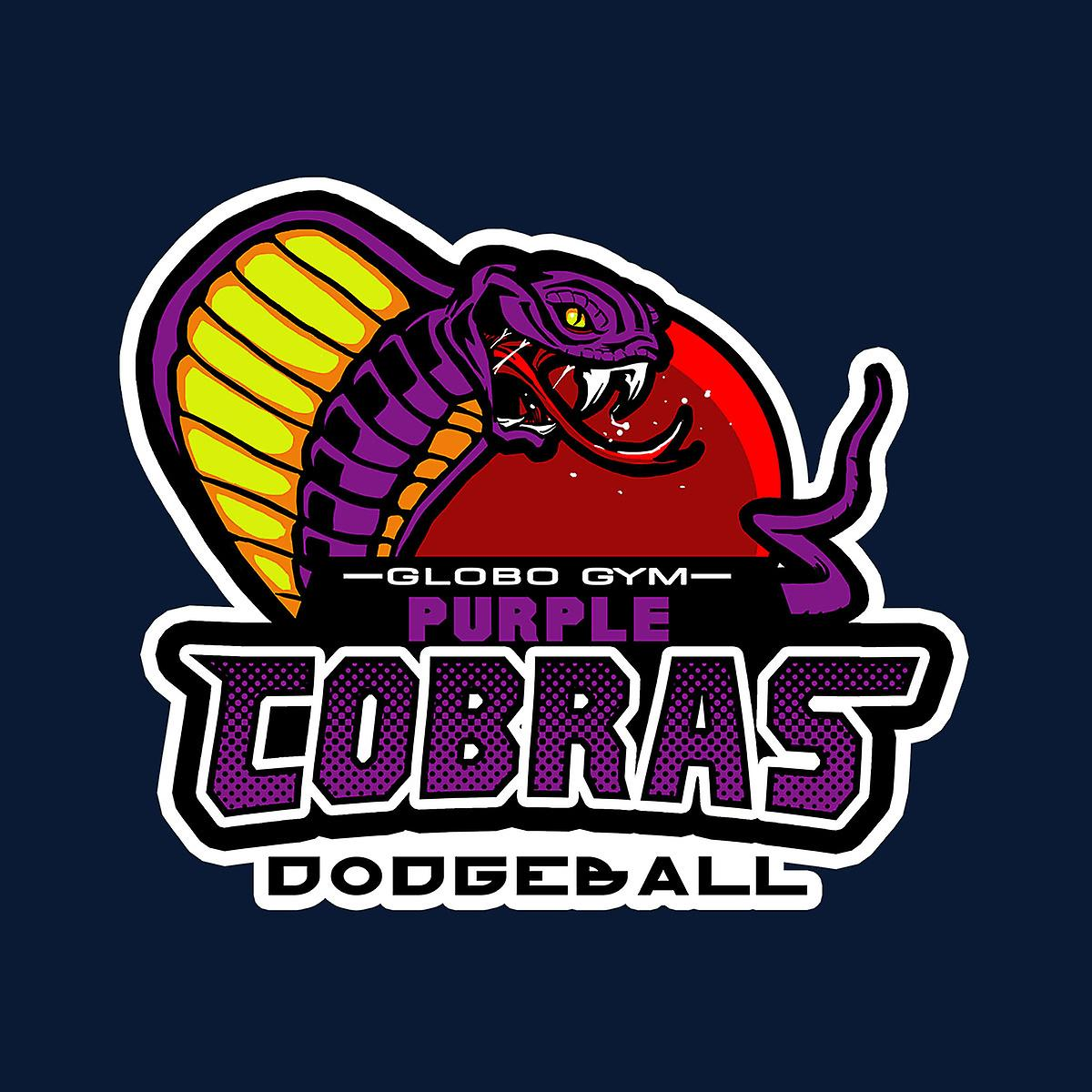 Purple Champs gilet Globo Gym violet «Cobras» Dodgeball féminine