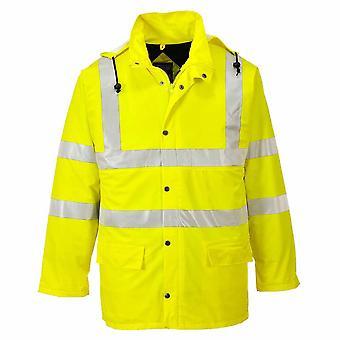 Portwest - Hi-Vis Sicherheit Sealtex Ultra gefütterte Workwear wasserdicht Hooded Jacket
