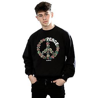 Woodstock Men's Floral Peace Sweatshirt