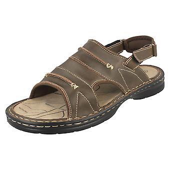 Mens Northwest Territory Savanna Leather Sandals