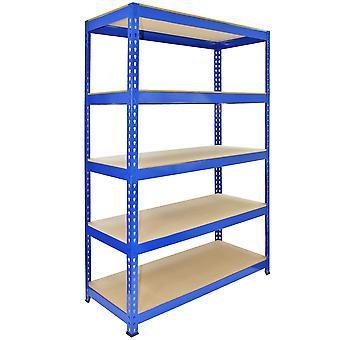 Monster Racking Q-Rax Boltless Garage Storage Shelves, 120cm W, 50cm D