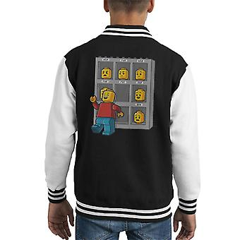 Lego Friday Face Kid's Varsity Jacket