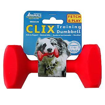 Clix Floating Training Dumbbell For Dog, Play Retrieval Dog Training M