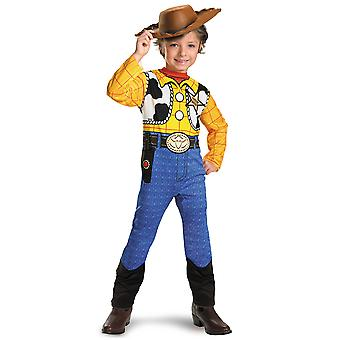 Woody Classic Sheriff Cowboy Disney Pixar Toy Story peuter jongens kostuum 3T-4T