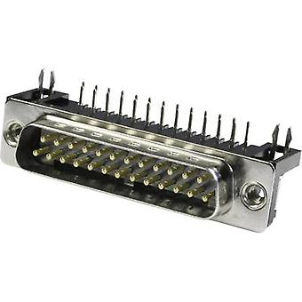 econ connect ST25WB/7G D-SUB pin strip 90 ° Number of pins: 25 Solder pins 1 pc(s) Tray