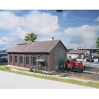 Piko H0 61823 H0 Locomotive shed stone castle
