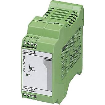 Phoenix Contact MINI-PS-100-240AC/10-15DC/2 trilho montado PSU (DIN) 2 30 W 1 x