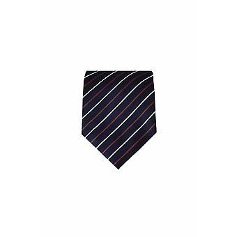 Blue silk tie M15