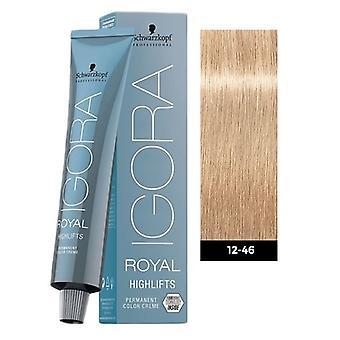 Schwarzkopf Igora Royal Highlifts 12-46 spécial blond Beige chocolat 60ml