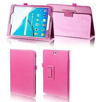 Für Samsung Galaxy Tab A 10.5 T590 T595 Pink Kunstleder Hülle Cover Tasche Case Neu