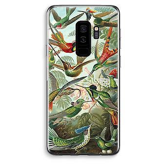 Samsung Galaxy S9 Plus custodia trasparente (Soft) - Haeckel Trochilidae
