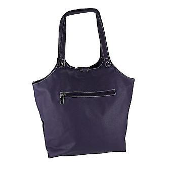 Beyond A Bag Grape Purple 2 In 1 Shoulder Purse