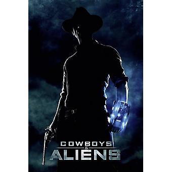 Cowboys & ulkomaalaisten juliste Jake Lonergan 91,5 x 61 cm