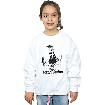 Disney meisjes Mary Poppins Rooftop Landing Sweatshirt