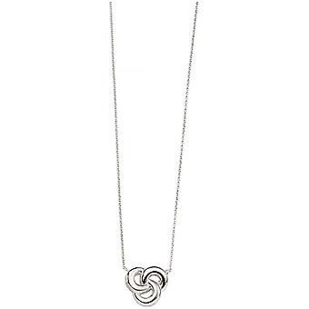 Anfängen keltische Halskette - Silber