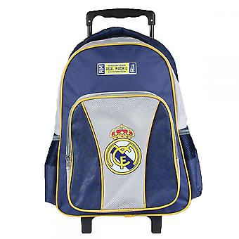 Real Madrid Backpack/suitcase Trolley with wheels 43x32x18 cm