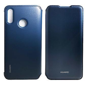 Original Huawei wallet flip cover Blau p smart 2019 protective case bag sleeve case 51992895