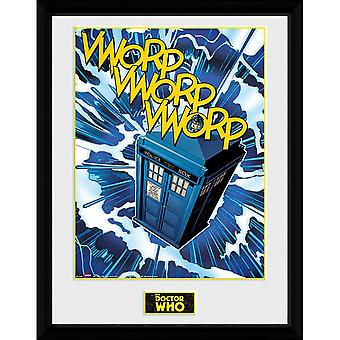 Doctor Who Tardis Framed Picture