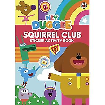 Hey Duggee: Squirrel Club Sticker Activity Book