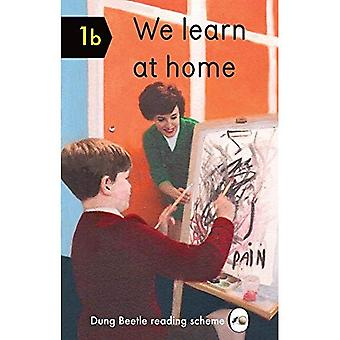 We Learn at Home: Dung Beetle Book 1b (Dung Beetle New Words Reading Scheme)