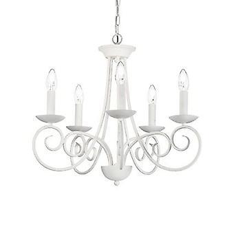 Ideal Lux - Sem raso bianco cinque Lampadario IDL092751