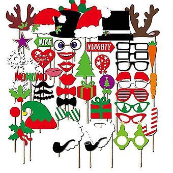 Foto Requisiten-Weihnachten, 50 Teile