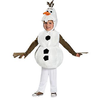 Frosne Olaf Toddler kostume
