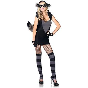 Miss Racoon Adult Costume