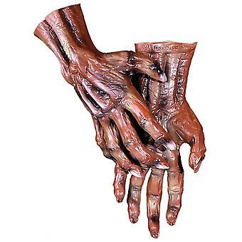 Mãos do cadáver