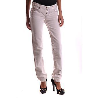 Mcq Door Alexander Mcqueen Ezbc053001 Women's White Cotton Jeans