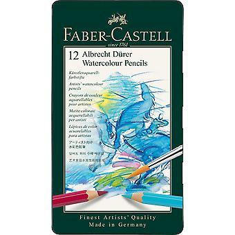فابر كاستيل ألبريخت دورر أقلام الرصاص المائية 12 القصدير