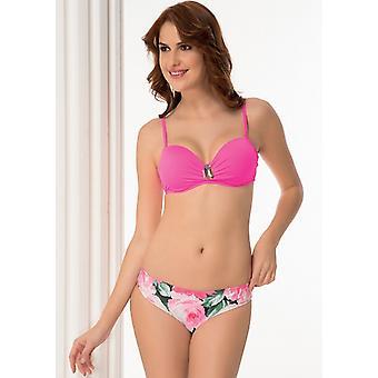 Aqua Perla - Womens -riviera- Pink - Bikini Two Pieces