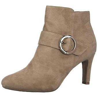 Bandolino Womens Lanaro Leather Almond Toe Ankle Fashion Boots