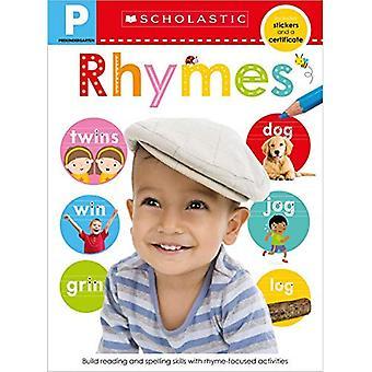 Cahier de compétences pré-K: comptines (apprenants précoces scolastiques)