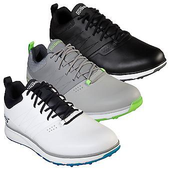 Skechers Mens Go Golf Mojo Punch Pelle Imperameabile Spikeless Golf Scarpe