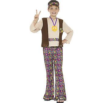 Dzieci's kostiumy Hippie Boy Costume
