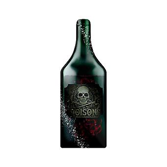 Grindstore What`s Your Poison Bottle Shaped Glass Chopping Board