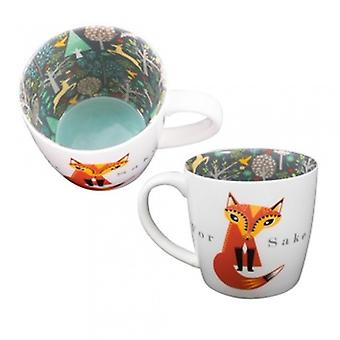 WPL Gifts For Fox Sake Novelty Mug | Gifts From Handpicked