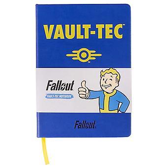 Fallout Vault-Tec Notebook sini-keltainen