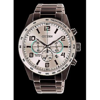 नागरिक पुरुषों की घड़ी बुनियादी Chrono AN8180-55E