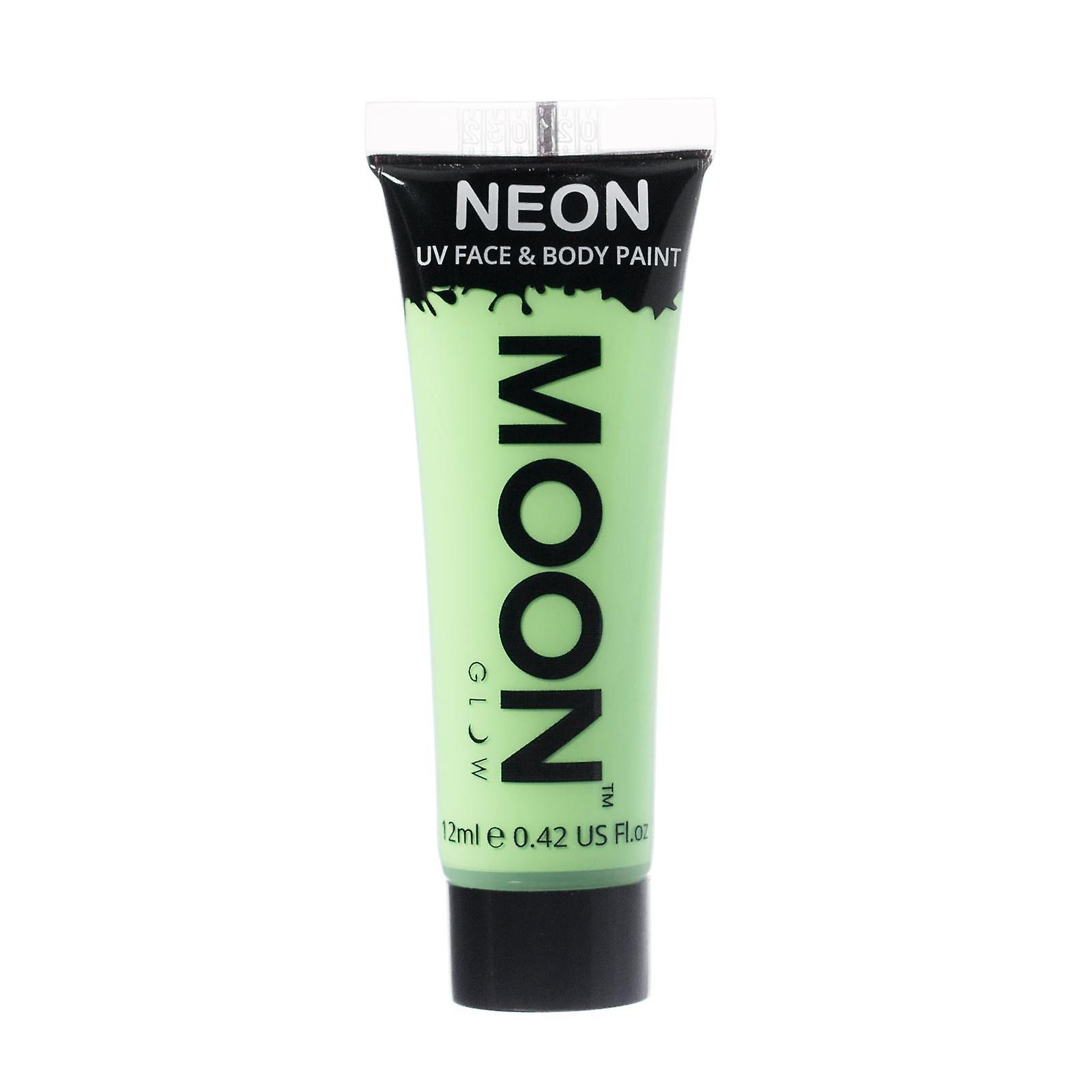 Moon Glow - 12ml Neon UV Face & Body Paint - Pastel Green