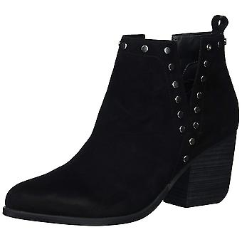 Fergie Womens Mariella Leather Pointed Toe Ankle Fashion Boots