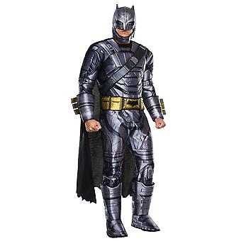 Batman v Superman Deluxe Armored Dawn of Justice DC Superhero Mens Costume