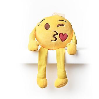 Emoji Kissen Regal Buddy - Kuss Wink