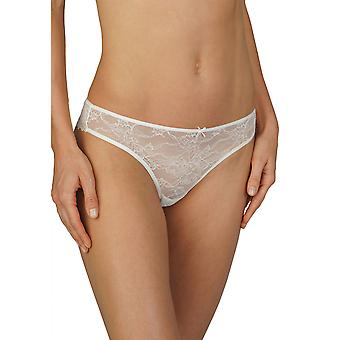 Mey 79046-5 Women's Fabulous Champagne Off White Lace Panty Thong