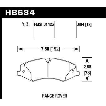Hawk Performance HB684Z. 694 PC