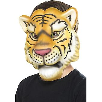 Tiger maska, žltá & čierna, EVA