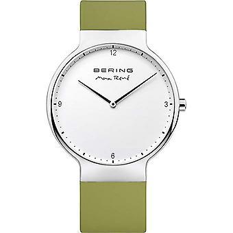Bering Montre homme Montre-bracelet Max René Ultra Slim - 15540-800 Silicone