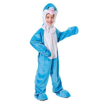Bristol Novelty Childrens/Kids Dolphin Costume With Head
